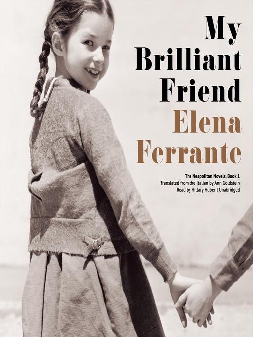 Book cover of My brilliant friend