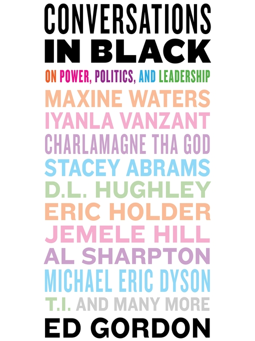 Title details for Conversations in Black by Ed Gordon - Available