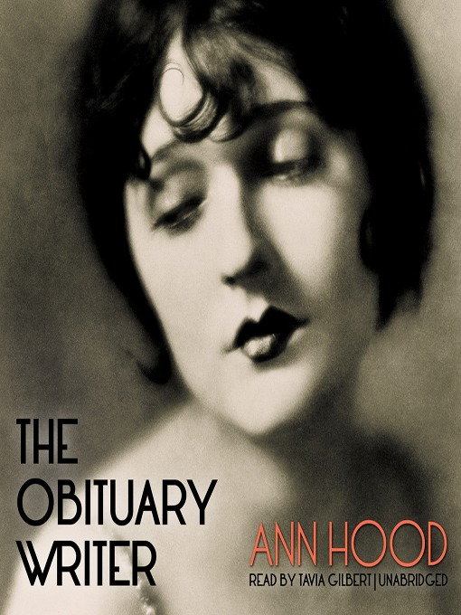 Cover of The Obituary Writer