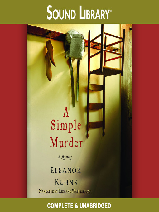 Title details for A Simple Murder by Eleanor Kuhns - Wait list