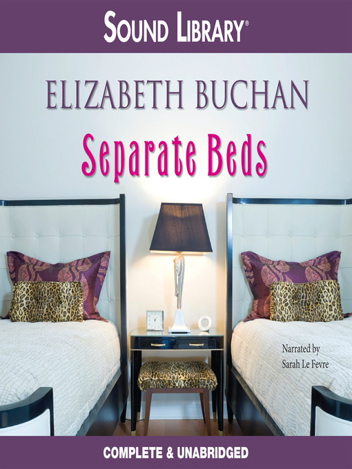 Title details for Separate Beds by Elizabeth Buchan - Available
