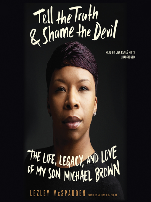 Title details for Tell the Truth & Shame the Devil by Lezley McSpadden - Wait list