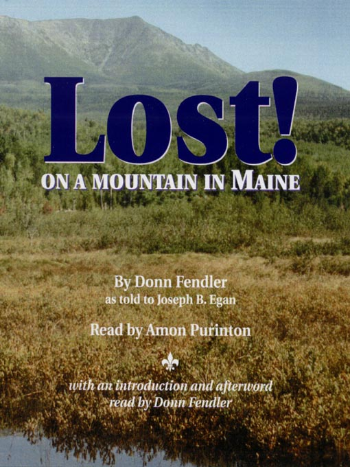 Cover of Lost on a Mountain in Maine