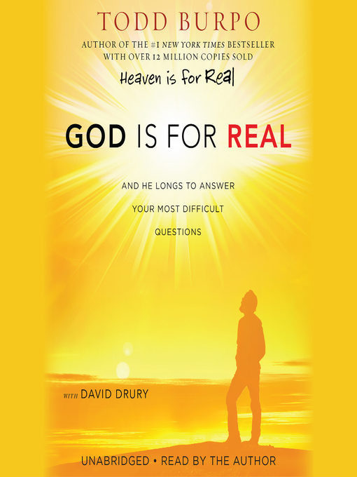 Title details for God Is for Real by Todd Burpo - Available