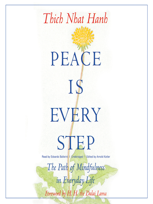 Cover of Peace Is Every Step