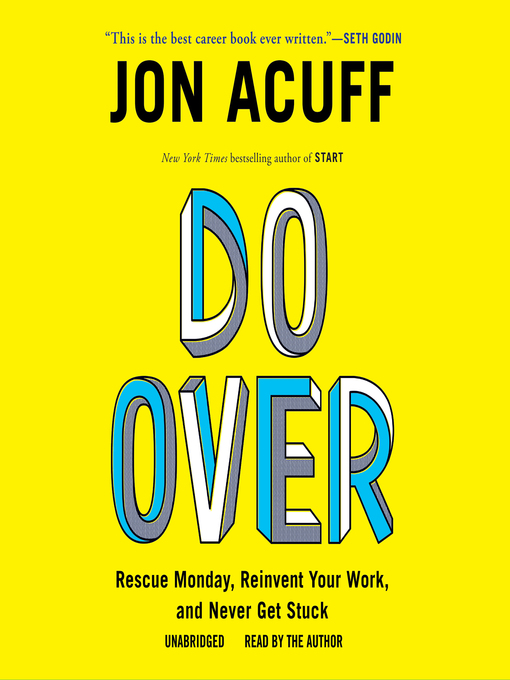Title details for Do Over by Jonathan Acuff - Available