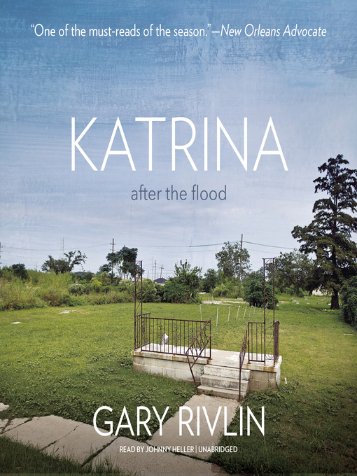 Title details for Katrina by Gary Rivlin - Wait list