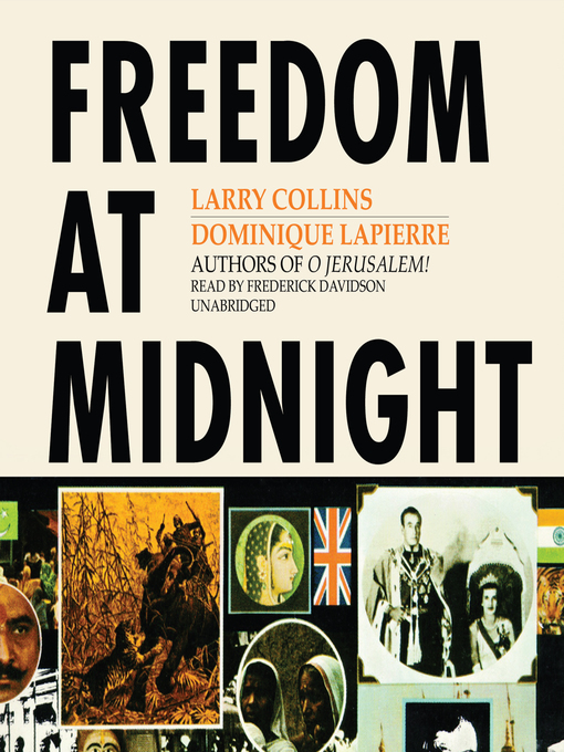Title details for Freedom at Midnight by Larry Collins - Wait list