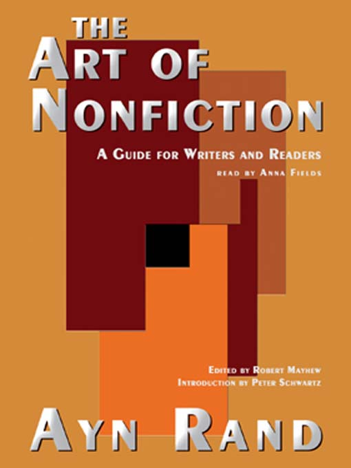 Title details for The Art of Nonfiction by Ayn Rand - Wait list