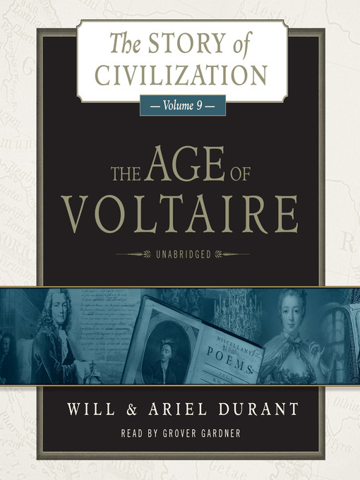 Title details for The Age of Voltaire by Will Durant - Wait list