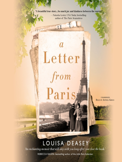 Title details for A Letter from Paris by Louisa Deasey - Available