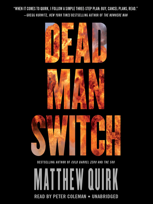 Title details for Dead Man Switch by Matthew Quirk - Wait list