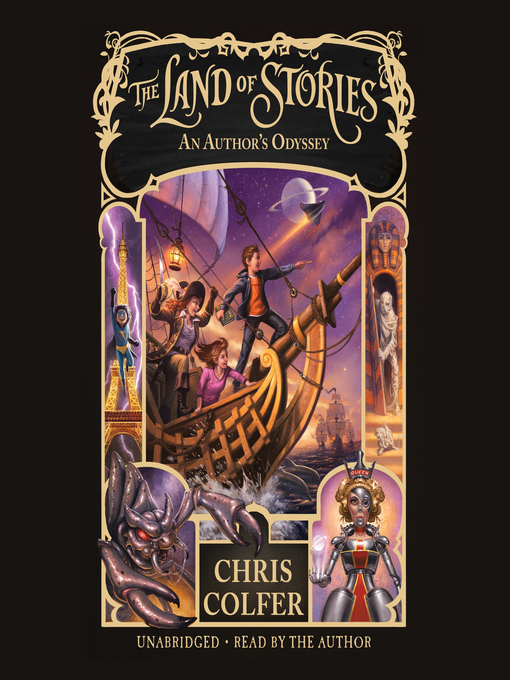 Title details for An Author's Odyssey by Chris Colfer - Wait list
