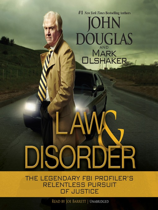 Title details for Law and Disorder by John Douglas - Available