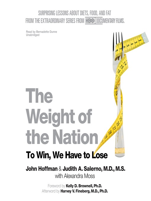 Title details for The Weight of the Nation by John Hoffman - Wait list