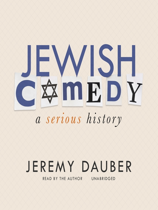 Title details for Jewish Comedy by Jeremy Dauber - Wait list