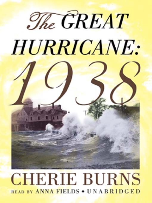 Title details for The Great Hurricane by Cherie Burns - Wait list