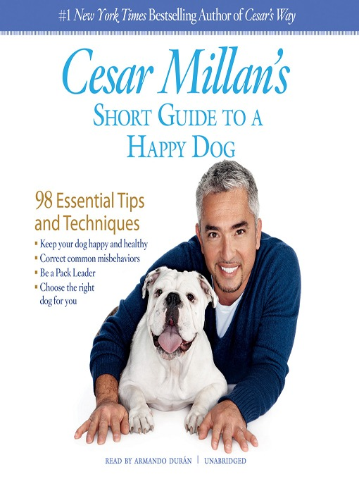 Cover of Cesar Millan's Short Guide to a Happy Dog