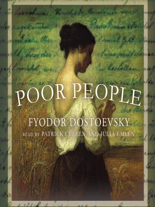 Title details for Poor People by Fyodor Dostoevsky - Wait list