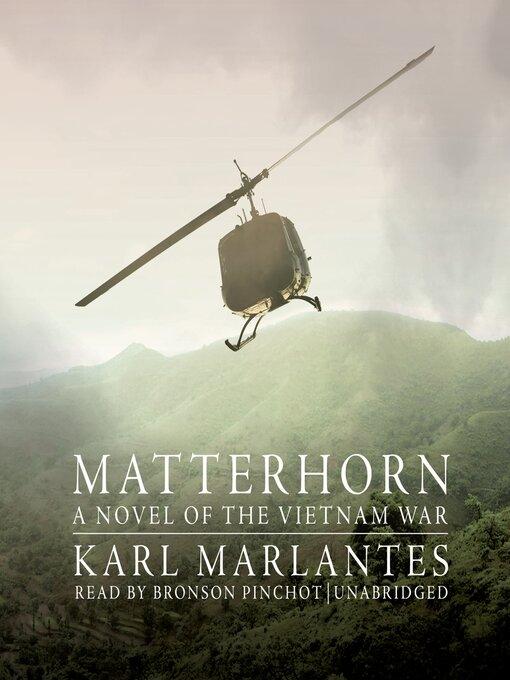 Title details for Matterhorn by Karl Marlantes - Wait list