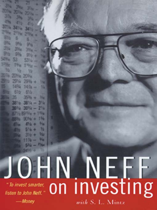 Cover of John Neff on Investing