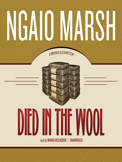 Title details for Died in the Wool by Ngaio Marsh - Available