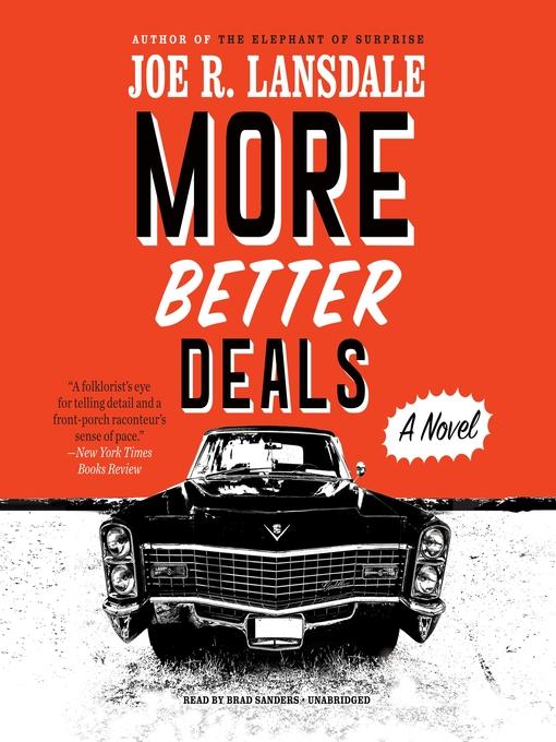 Title details for More Better Deals by Joe R. Lansdale - Wait list