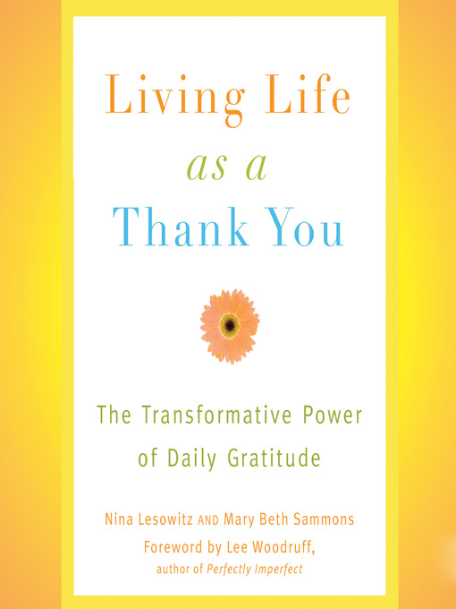 Title details for Living Life as a Thank You by Nina Lesowitz - Wait list