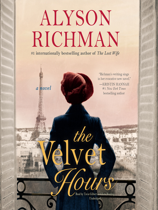 Title details for The Velvet Hours by Alyson Richman - Available