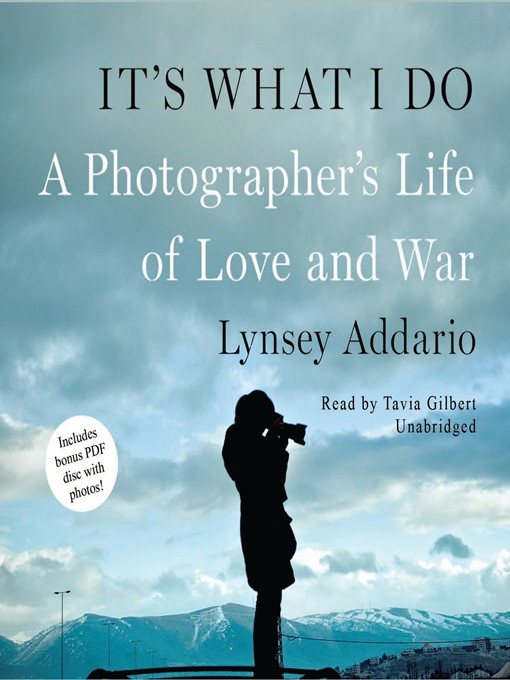 Title details for It's What I Do by Lynsey Addario - Wait list