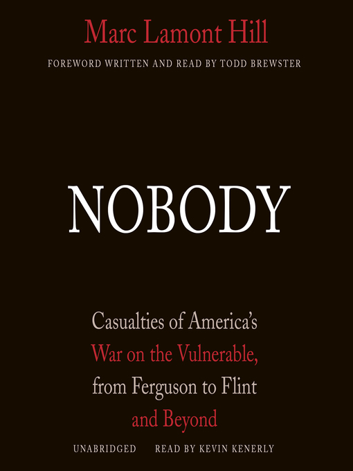 Title details for Nobody by Marc Lamont Hill - Wait list