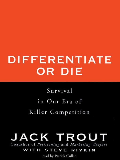 Cover of Differentiate or Die