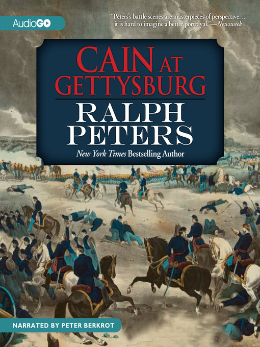 Title details for Cain at Gettysburg by Ralph Peters - Wait list