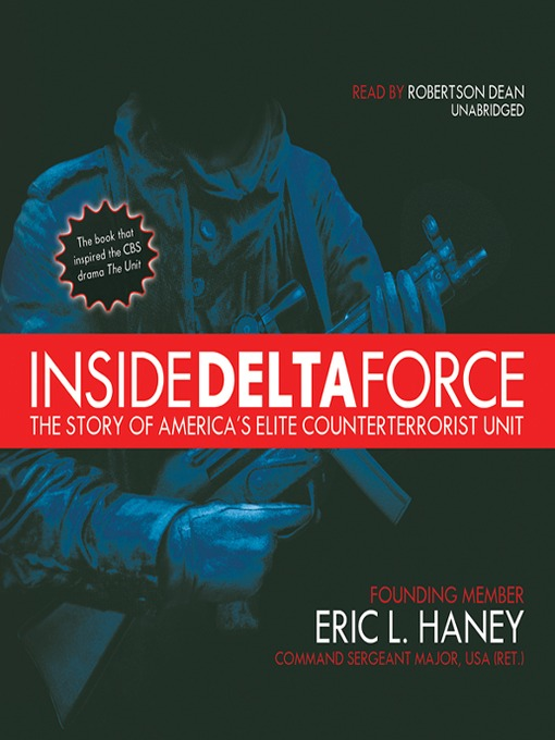 Title details for Inside Delta Force by Eric L. Haney - Wait list