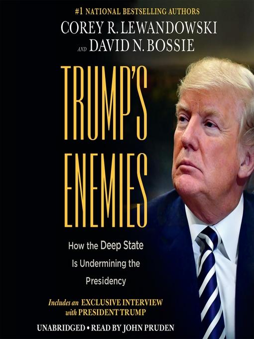 Title details for Trump's Enemies by Corey R. Lewandowski - Available