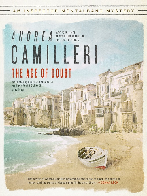 Title details for The Age of Doubt by Andrea Camilleri - Available