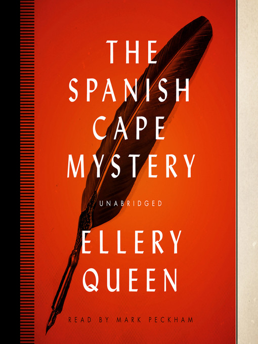 Title details for The Spanish Cape Mystery by Ellery Queen - Wait list