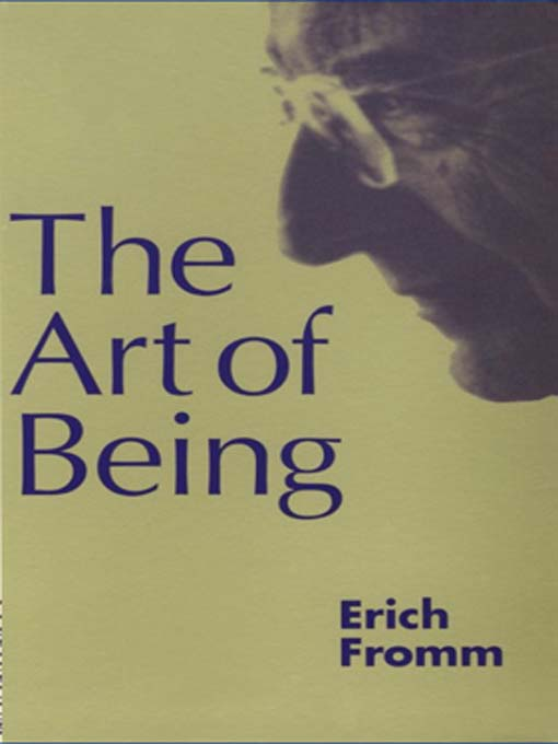 Title details for The Art of Being by Erich Fromm - Wait list