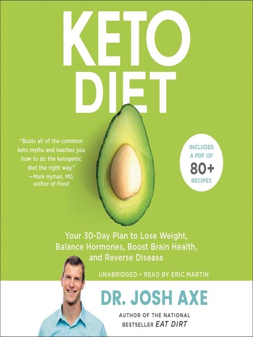 Title details for Keto Diet by Dr. Josh Axe - Wait list