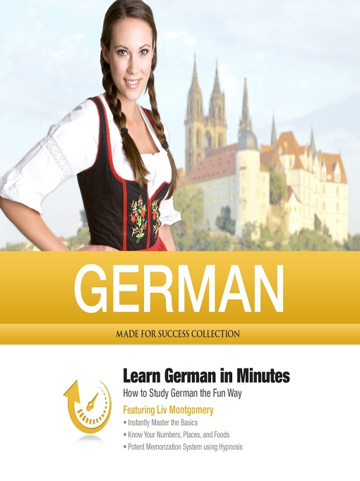 Title details for German in Minutes by Liv Montgomery - Wait list