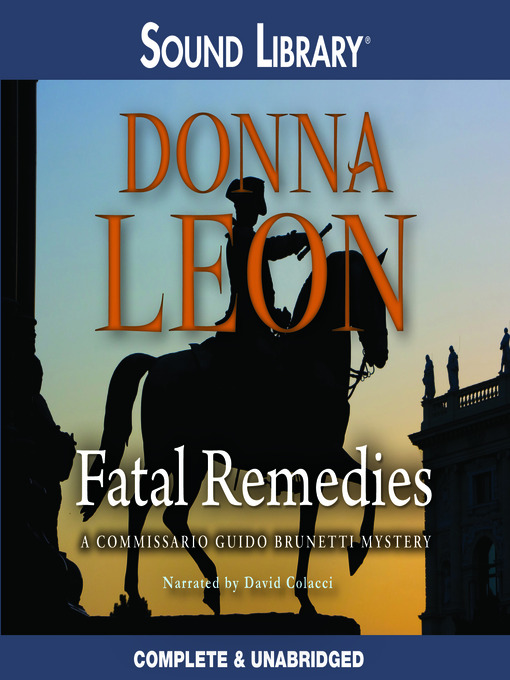 Title details for Fatal Remedies by Donna Leon - Wait list
