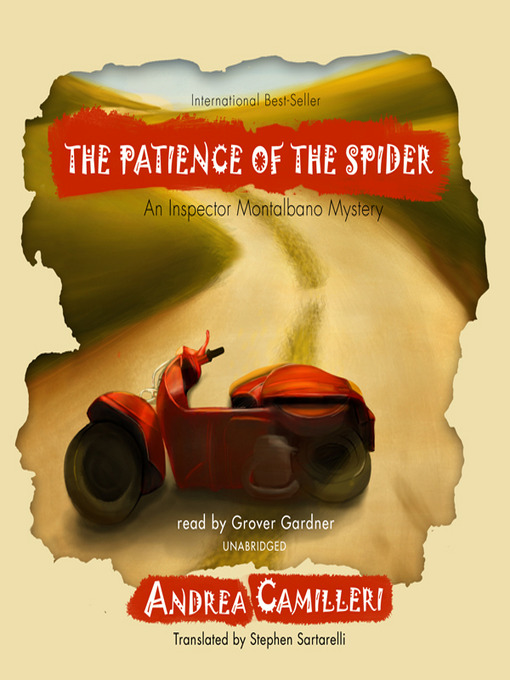 Title details for The Patience of the Spider by Andrea Camilleri - Wait list