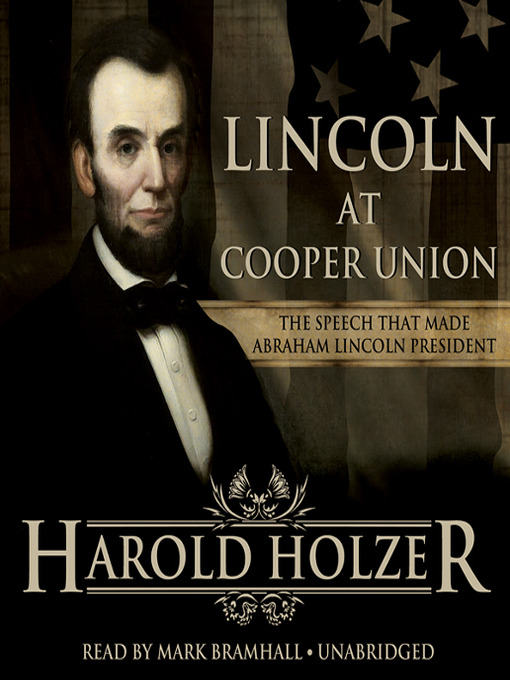 Cover of Lincoln at Cooper Union