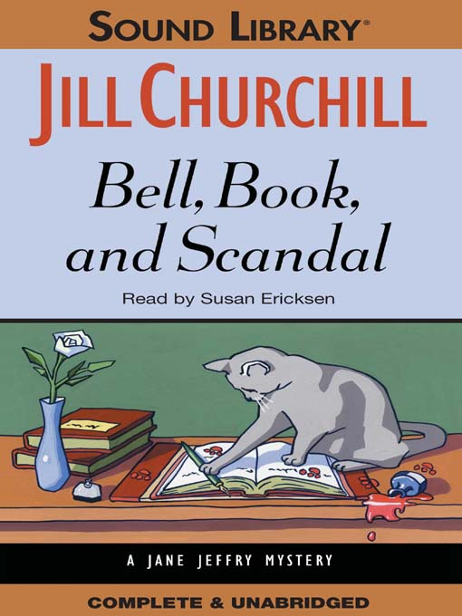 Title details for Bell, Book, and Scandal by Jill Churchill - Available