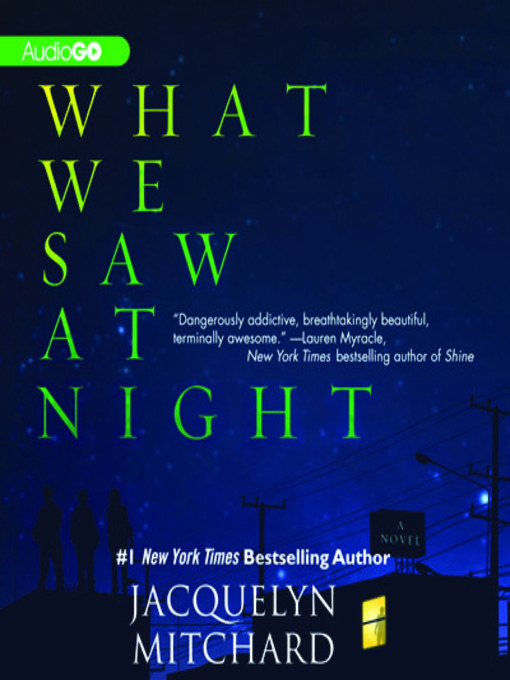 Title details for What We Saw at Night by Jacquelyn Mitchard - Wait list