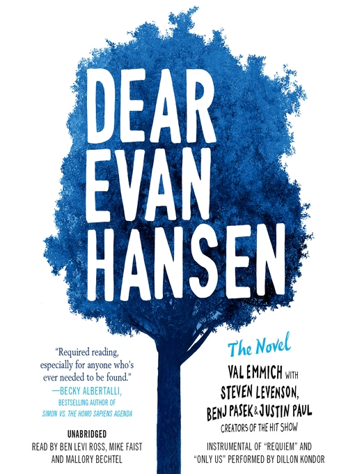 Title details for Dear Evan Hansen by Val Emmich - Wait list