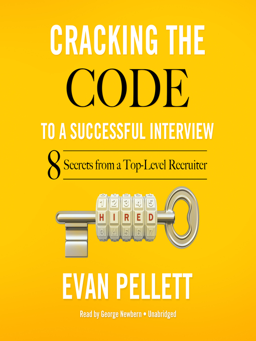 Cover of Cracking the Code to a Successful Interview