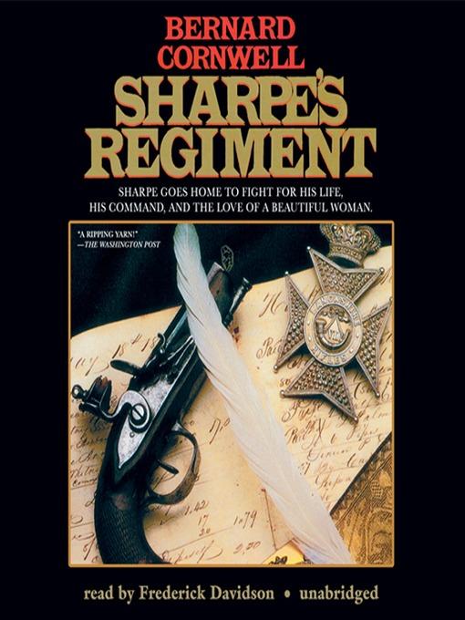 Title details for Sharpe's Regiment by Bernard Cornwell - Wait list
