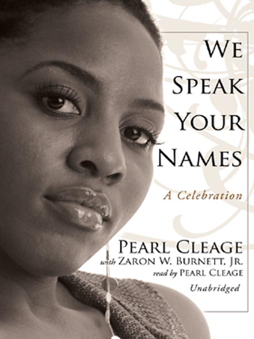 Title details for We Speak Your Names by Pearl Cleage - Available