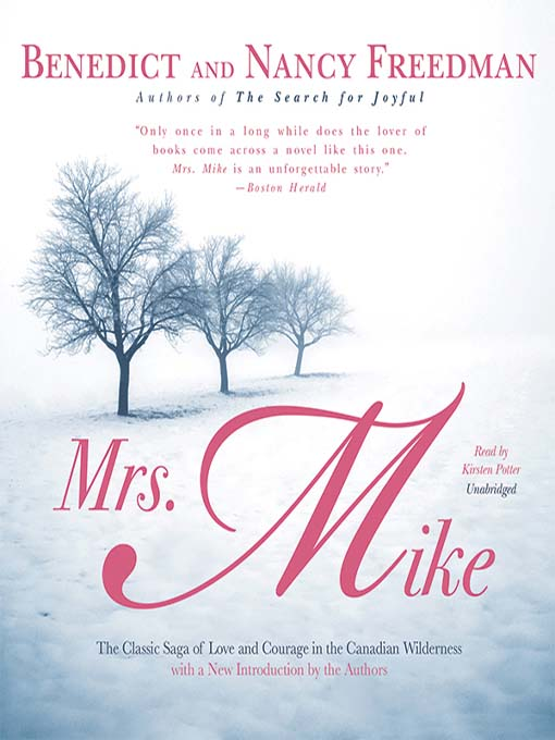 survival in the novel mrs mike by benedict and nancy freedman